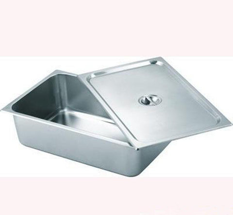 Bain Marie Tray Half with Lid