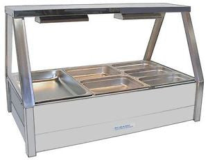 Bain Marie 6 inc lids with Glass Hood ++
