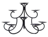 Candelabra – Black Iron (9) Floor Height