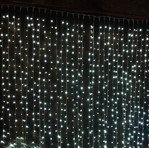 Curtain Fairy Lights 6m x 3m