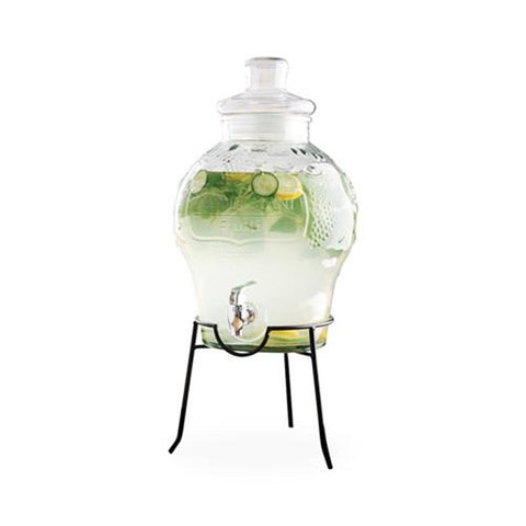 Glass Drink Dispenser 12.5ltr or 10ltr with Stand