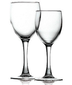 Stemware Princessa White 185ml