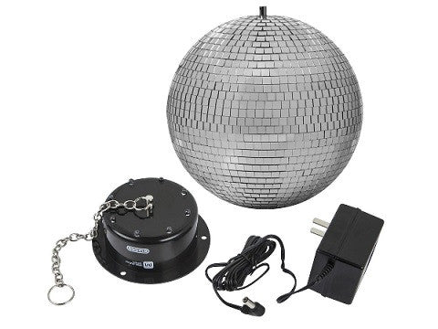 Mirror Ball with pin light and motor