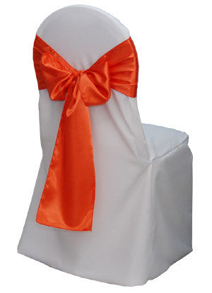 Fabric Chair Cover and Bow Set