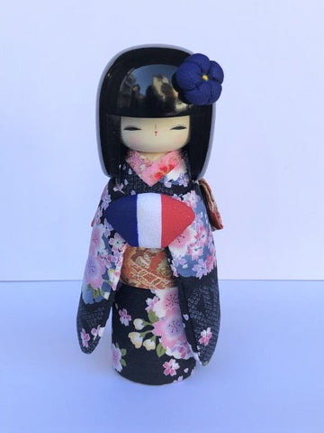 KK23  Kokeshi Kyo Bijin France Black Hair €42