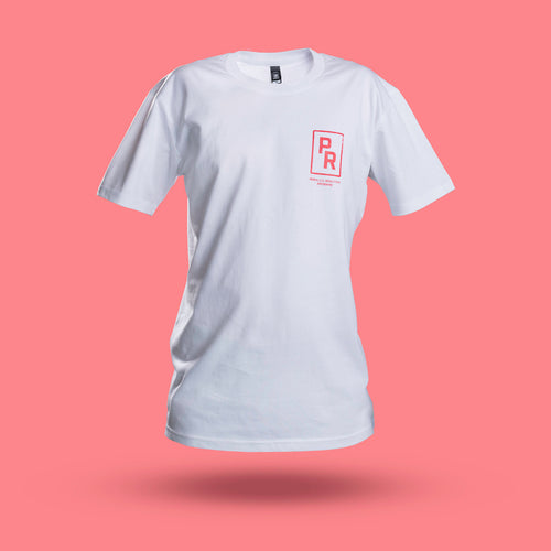 White Badge Tee