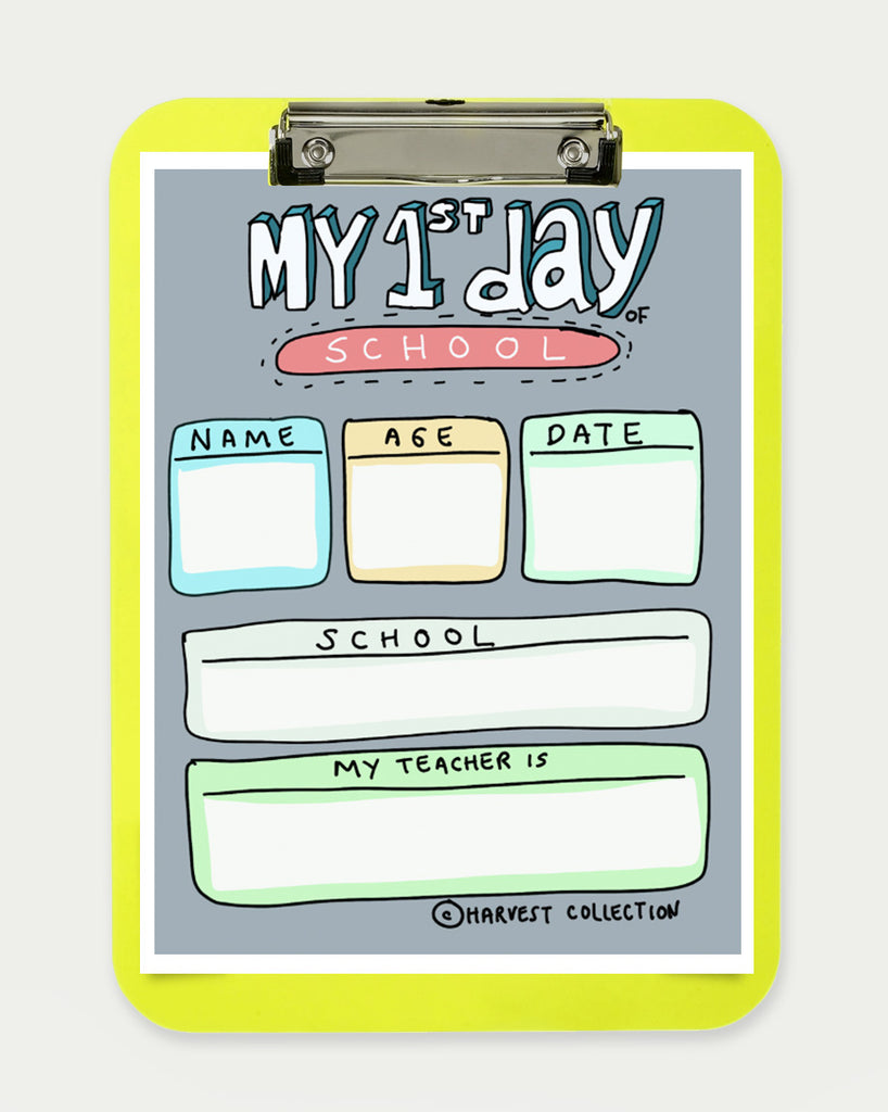 First Day of School Sign - FREE DOWNLOAD