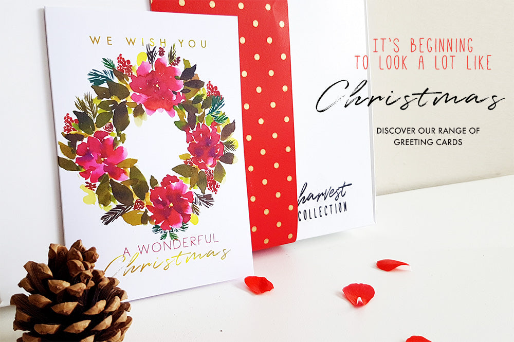 Welcoming Our New Arrivals, Christmas Greeting Cards!