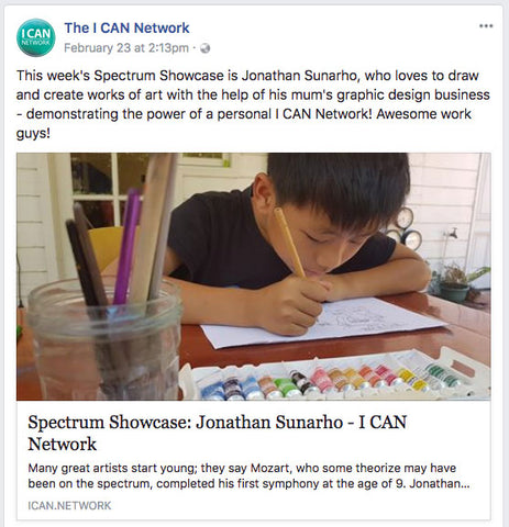 I Can Network Showcase Jonathan Sunarho