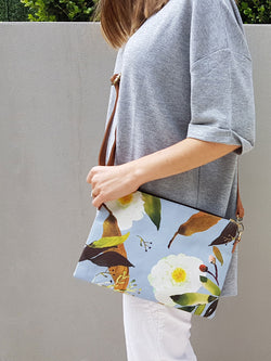 Cross Body Bag - Vintage Paeonia (low stock)