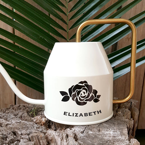 Personalised Watering Can - Roses