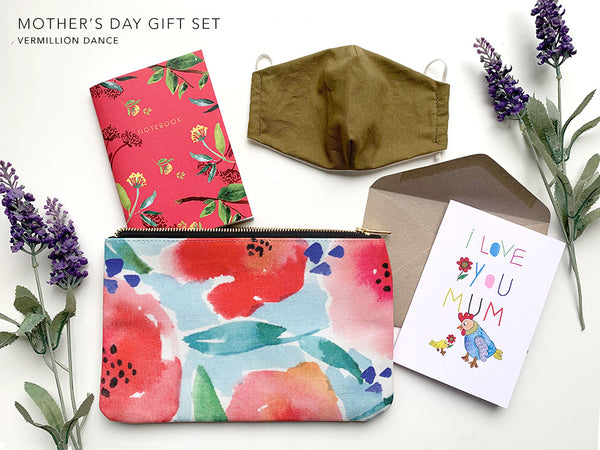 Mother's Day Gift Set - Vermillion Dance Pack