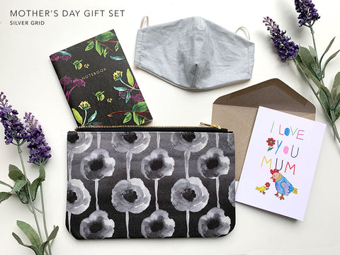 Mother's Day Gift Set - Silver Grid Pack