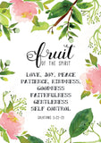 Fruit of The Spirit - Art Print/ Plaque