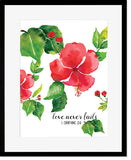 Love Never Fails - Art Print