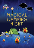 Magical Camping Night - Art Print/ Plaque