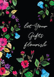 Let Your Gifts Flourish - Art Print/ Plaque