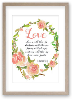 Love - Art Print/ Plaque