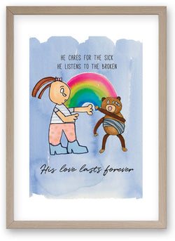 Caring For The Sick And The Broken art print