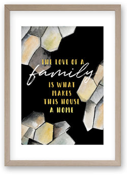 The Love of A Family - Art Print