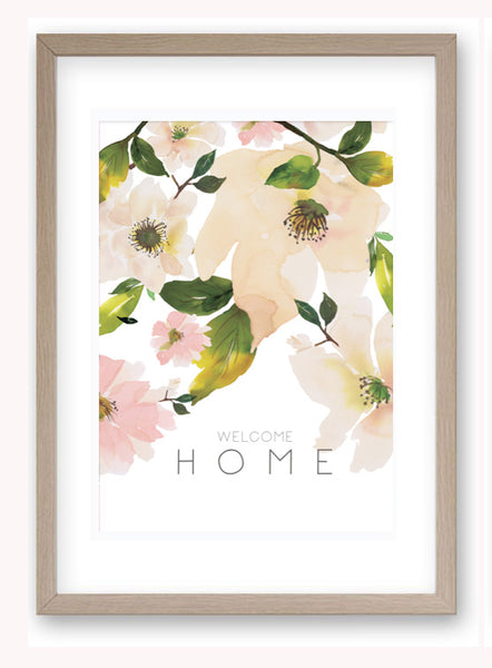 Welcome Home - Art Print/ Plaque
