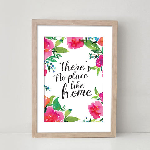 There's No Place Like Home - Art Print/ Plaque