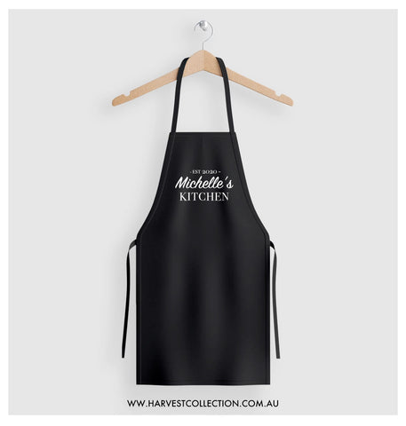 Personalised Apron - Est 2020 My Kitchen