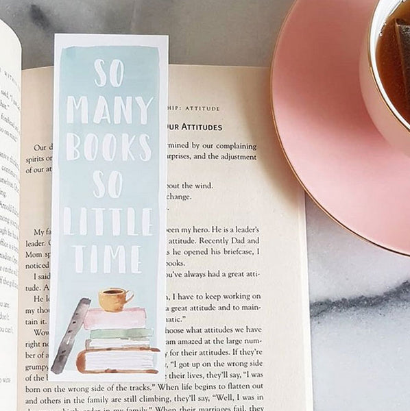 Bookmark So Many Books So Little Time