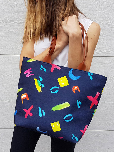 ON SALE Tote Bag - Brush Strokes
