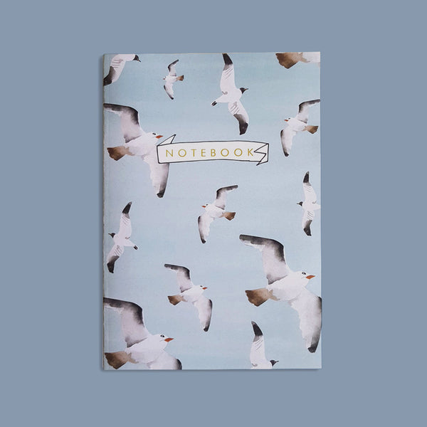 A5 Bullet Dot Journal Notebook 48 pages - Birds Fly High