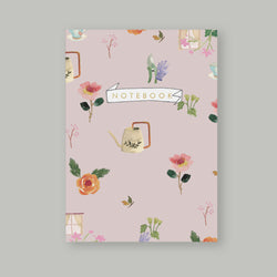 A5 Bullet Dot Journal Notebook 80 pages - Gardening