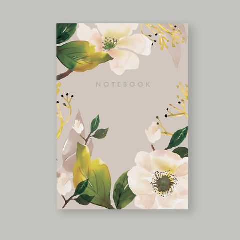 A5 Bullet Dot Journal Notebook 80 pages - Magnolia