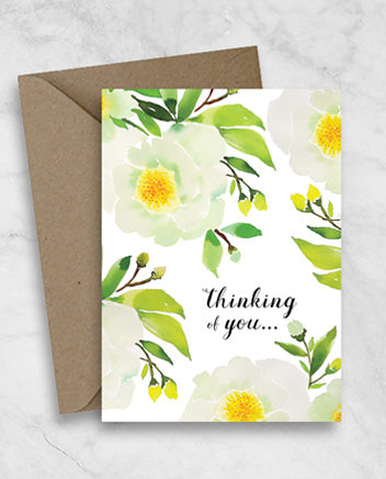 Sympathy Greeting Card - Thinking of You