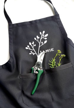 Personalised Garden Apron - Peach Bloosom