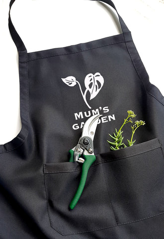 Personalised Garden Apron - Swiss Cheese