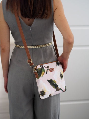 Cross Body Bag - Magnolia Gentleness