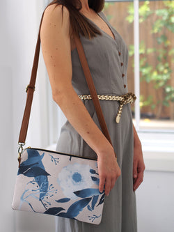 Cross Body Bag - Paeonia Duotone
