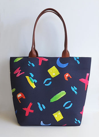 Tote Bag - Brush Strokes
