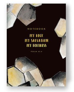 Faith Series Notebook - My Rock My Fortress