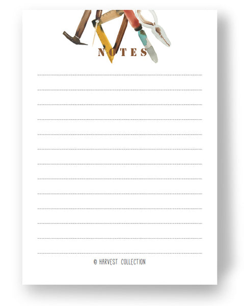 Toolbox A6 Notepad