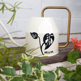 Personalised Watering Can - Swiss Cheese Monstera