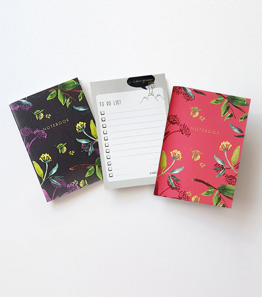 A6 Notebook and Notepad Set