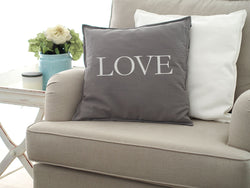 Washable Cushion Cover Quotes - LOVE