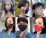 Plain Neutral Reusable Face Masks - Essential Collection