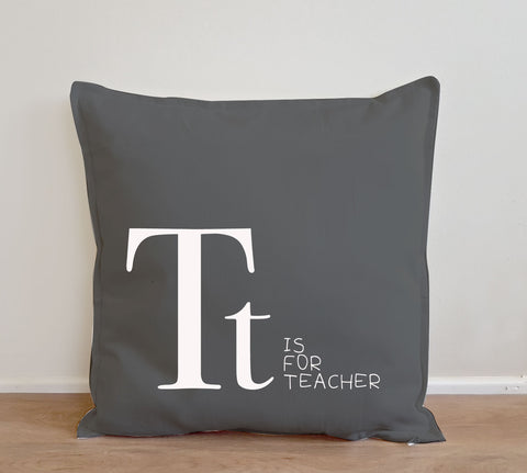 Teachers Gift - Alphabet Cushion Cover