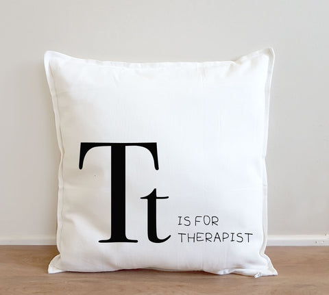 Therapist Gift - Alphabet Cushion Cover