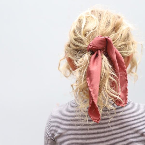 Child's Scarf | Dusty Rose