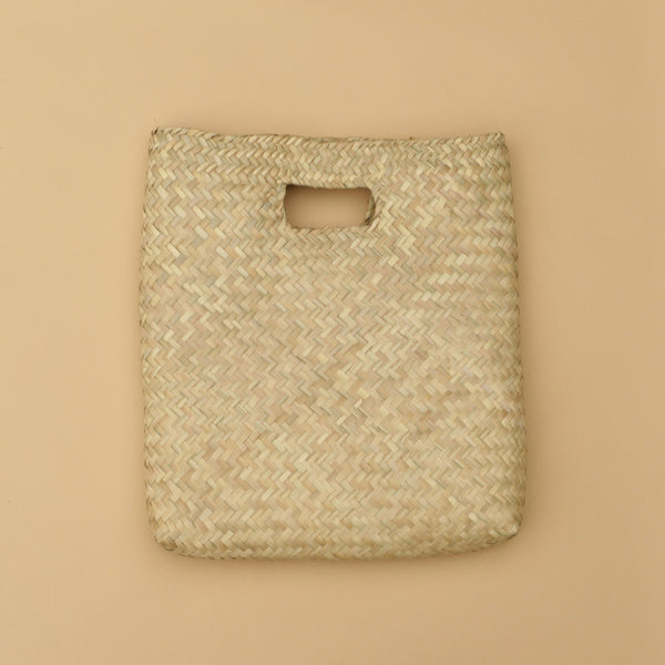 Palm Woven Clutch