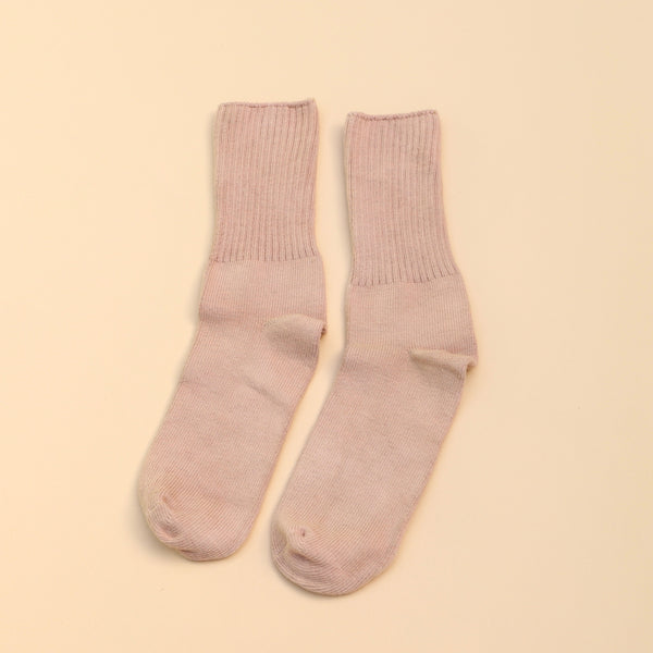 Adult Socks | Mauve