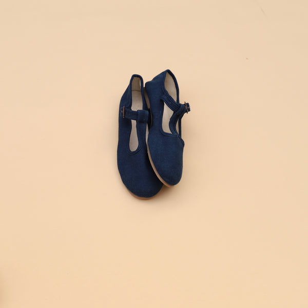 Adult T-Strap Mary Jane | Indigo